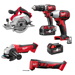 Milwaukee M18 BPP5A-402B Milwaukee 18v Li-ion 5 Piece Kit
