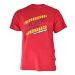 Snickers 25021600 Classic T-Shirt with Design - Red