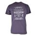 Snickers 250258000 Classic T-Shirt with Design - Steel Grey
