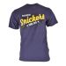 Snickers 25029500 Classic T-Shirt with Design - Navy
