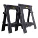Stanley STST1-70713 Folding Sawhorse Twinpack