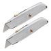 Stanley 2-10-099 99E Retractable Blade Knife - Pack of 2