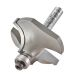 """Trend 46/150X1/4TC Guided Rounding Over Cutter 19mm Cut - 1/4"""" Shank, 38mm Dia, 12.7mm Radius"""
