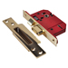 Union J2200S-PL-3.0 Union Strongbolt BS 5 Lever Sashlock 3'' - Polished Brass