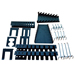 Vaunt 12077 Vaunt Peg Board Accessory Set 22 Piece
