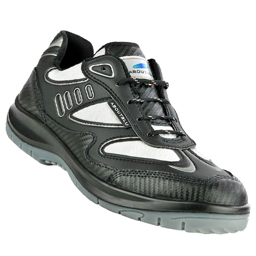 Aboutblu Eagle Safety Trainers (Black)