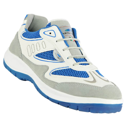 Aboutblu Eagle Safety Trainers (White) Size 12