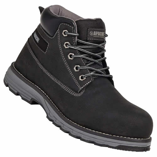 Apache Flyweight Safety Boots - Black