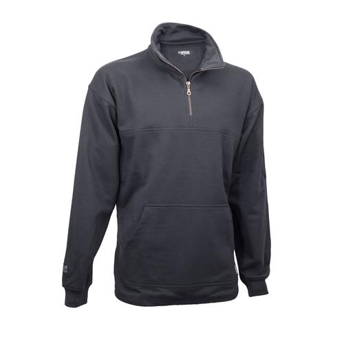1/4 Zip Sweatshirt - Charcoal