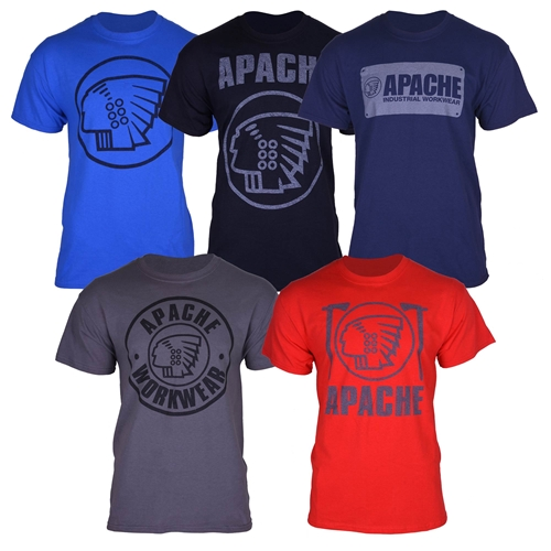 Apache T-Shirt 5 Pack