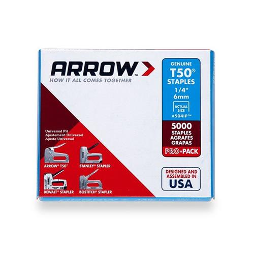Arrow T5014 Arrow Staples 6mm (5000)