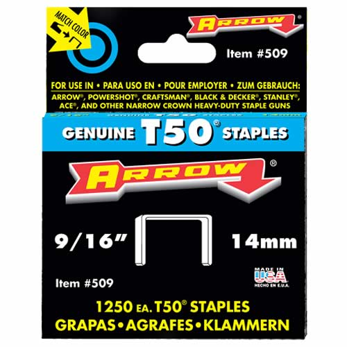 Arrow T50916 Arrow Staples 14mm (5000)
