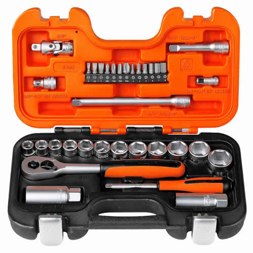 Bahco S330 Bahco 34 Piece Socket Set