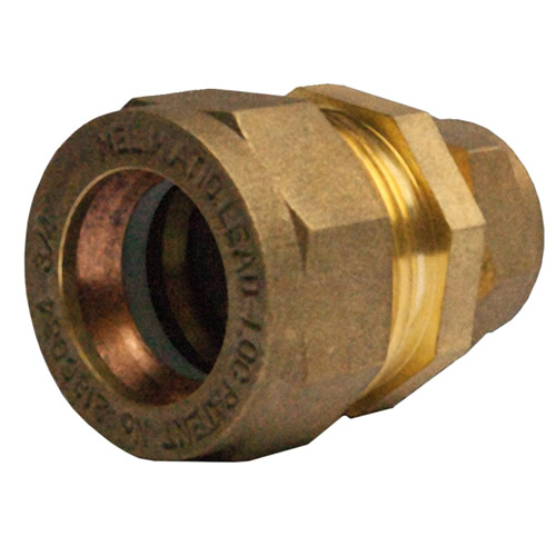 Unbranded 1/2/15LC 15mm x 1/2'' 7lb LeadLoc Coupling