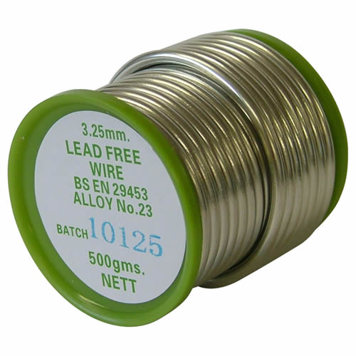 Lead Free Solder Coil 3.25mm 500g