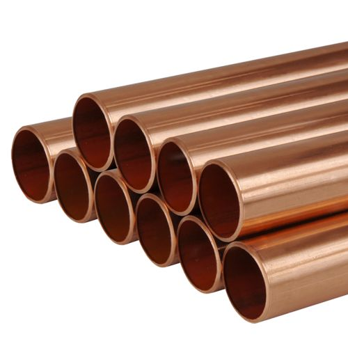 Unbranded 1/2/S/LF 15mm 2 Metre Copper Tube - Pack of 10
