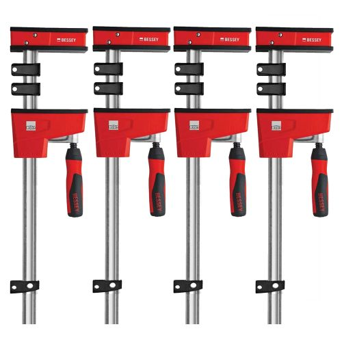 Bessey KRE125-2K Bessey 1250mm KRE Body Clamp - Pack of 4