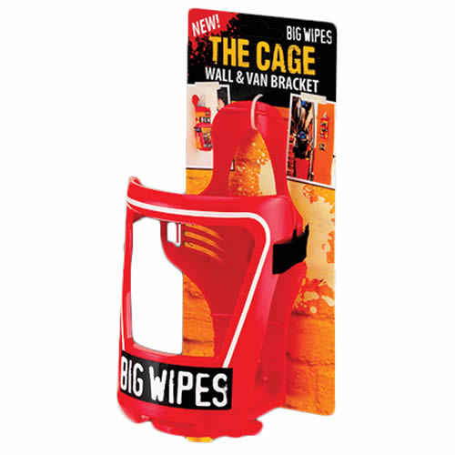 Big Wipes 2421 Big Wipes 'THE CAGE' Fully Adjustable Wall & Van Bracket