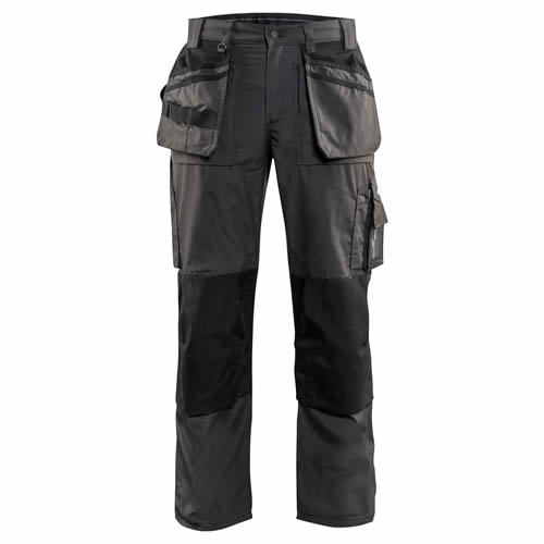Blaklader 1525 Lightweight Trousers with Holster Pockets - Grey