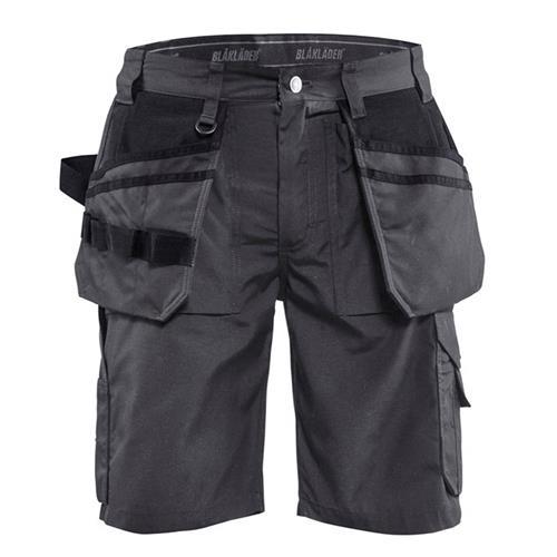 Blaklader 1526 Lightweight Craftsman Shorts (Grey)