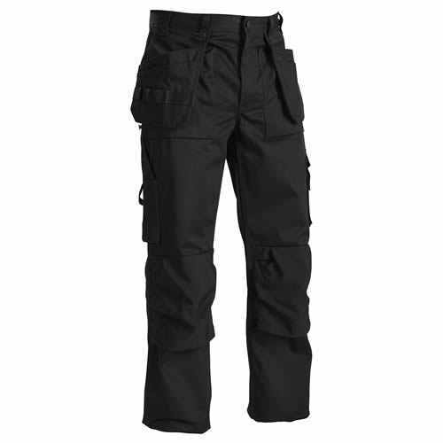 Blaklader 1530 Craftsman Trousers (Black)