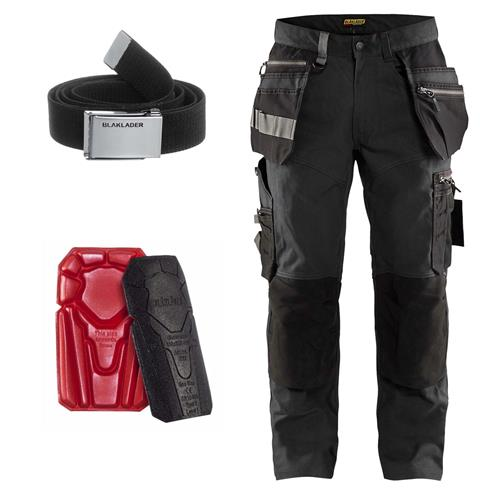 Craftsman Trousers with Stretch Kit - Grey