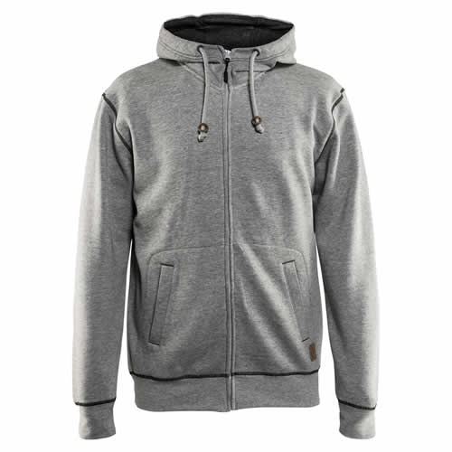 Blaklader Hooded Sweatshirt (Grey Melange)