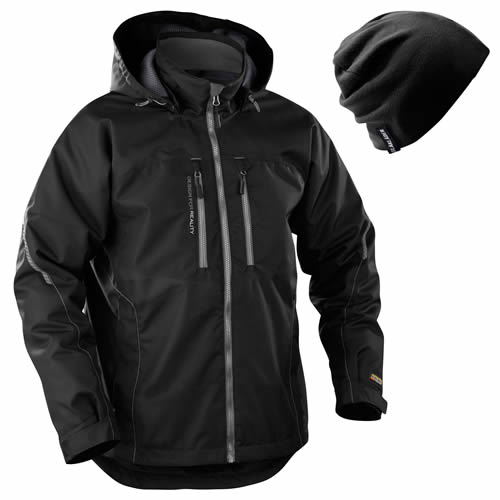 Blaklader Functional Waterproof Winter Jacket (Black) Small