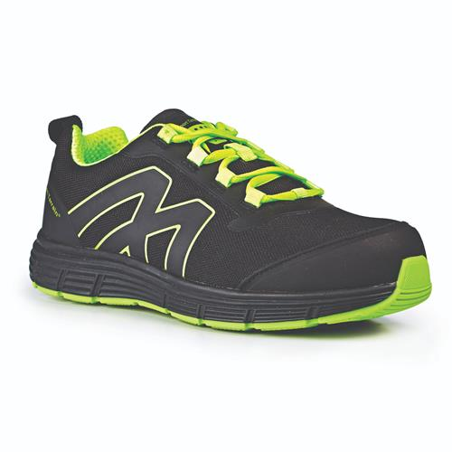 Lightweight Safety Trainer - Black/Lime