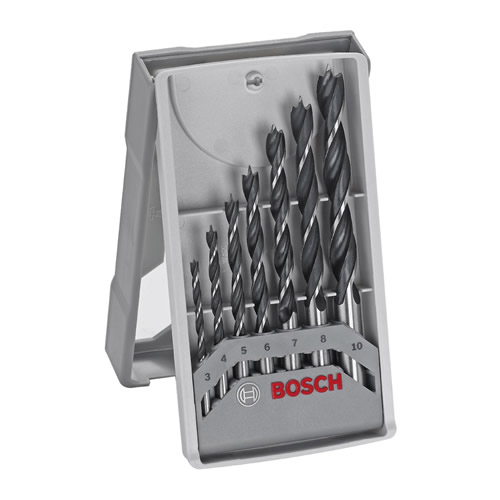 Bosch 2607017034 7 Piece X-Pro Brad Point Drill Bit Set