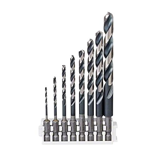 Bosch 2608577139 HSS Impact Control Twist Drill Bit 8 Piece Set