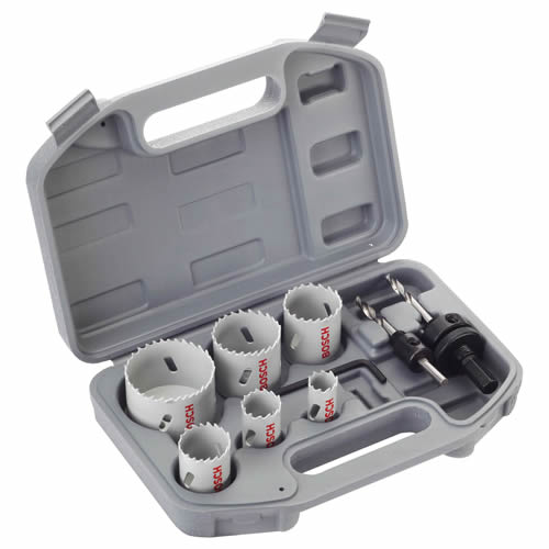 Bosch 2608580803 Specialised Plumbers 9 Piece Holesaw Kit