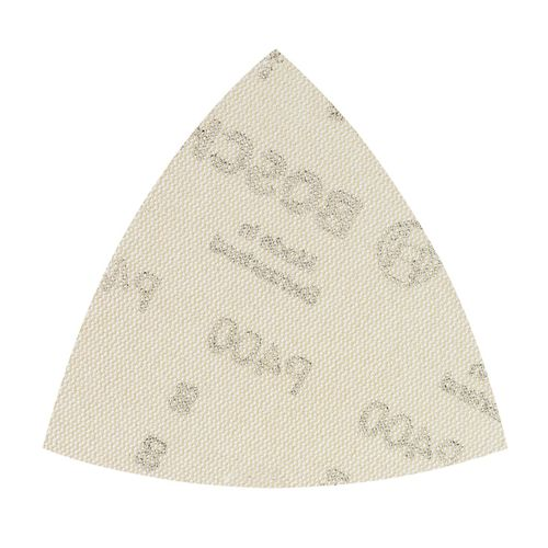 Bosch 2608621197 Delta Sanding Sheets M480 for Wood & Paint 93mm x 93mm G400 - Pack of 5