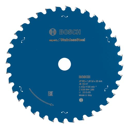 Bosch 2608644289 CSB Expert for Stainless Steel Hand Held (Dry Cutter for Metal) 185x20x1.9x36T