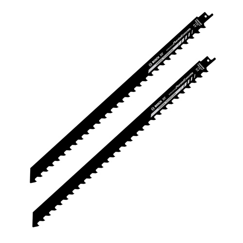Bosch 2608650975 S2041HM Carbide Endurance Recip Saw Blade for Aerated Concrete - Pack of 2