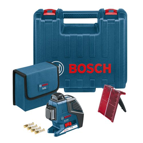 Bosch GLL380 Self-Levelling 360° Multi Line Laser