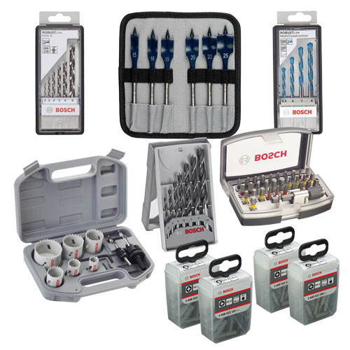 Bosch MDBP 164 Piece Mixed Drill Bit Set