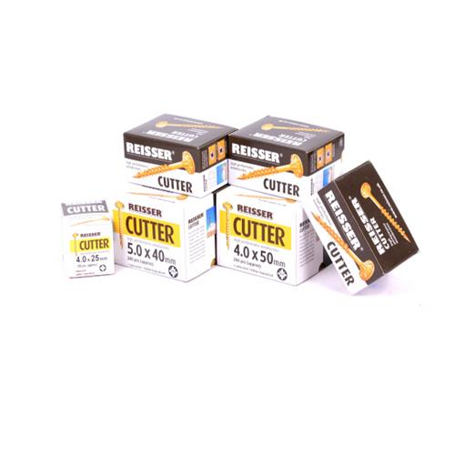 Reisser Cutter Wood Screws Mega Pack Box Bundle of 1200
