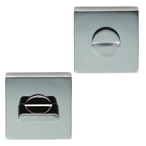 Carlisle Brass CEB004QCP Carlisle Brass Square Turn And Release - Polished Chrome