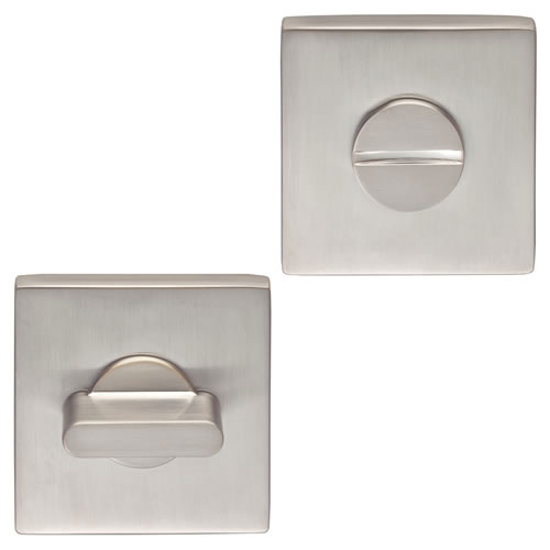 Carlisle Brass CEB004QSC Carlisle Brass Square Turn And Release - Satin Chrome