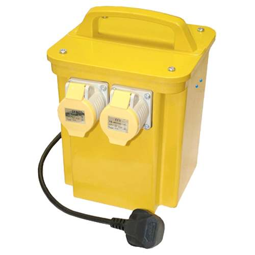Professional CARCM33002 Transformer Twin Outlet (3.3kva)