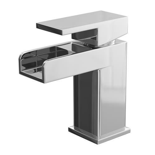 Cassellie BEL001 Belle Waterfall Mono Basin Mixer - Without Waste
