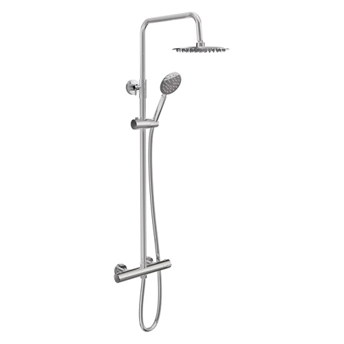 Cassellie SHW004 Videria Round Thermostatic Shower Kit