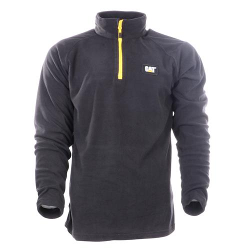 Caterpillar Concord Fleece Pullover - Black