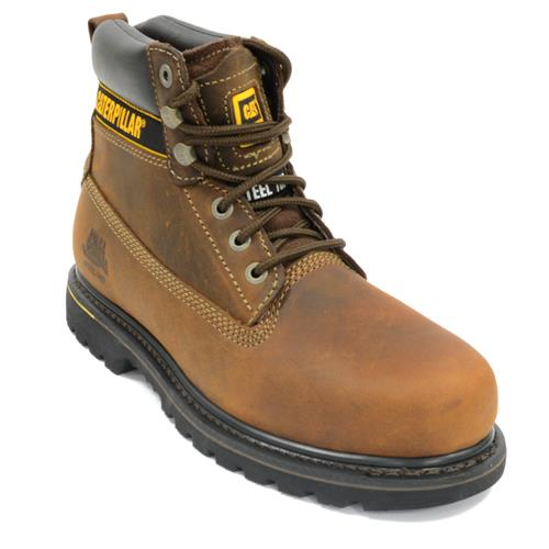 f6f3f261add74 CAT HOLTONBN | Holton Safety Boots - Brown