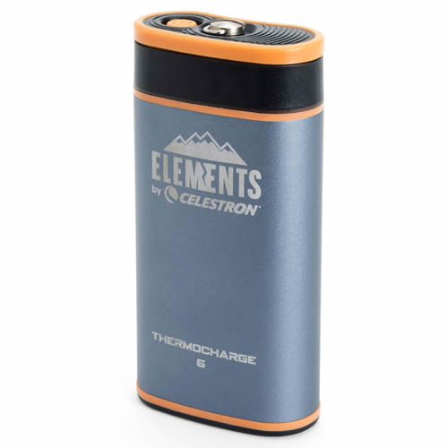 Celestron ThermoCharge 6 2in1 Hand Warmer & Power Bank - 6000 mAh