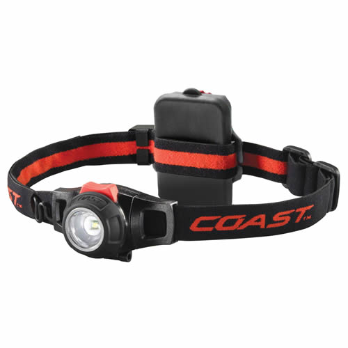 Coast HL7R Coast LED Rechargeable Fixed Beam Head Torch