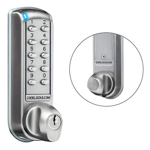 Codelock CL2255 BS 2000 Series Entry Level Electronic Tubular Mortice Latch