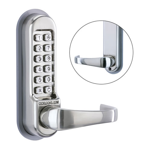 Codelock CL505 SS 500 Series Front & Back Plates with Code Free Entry Option