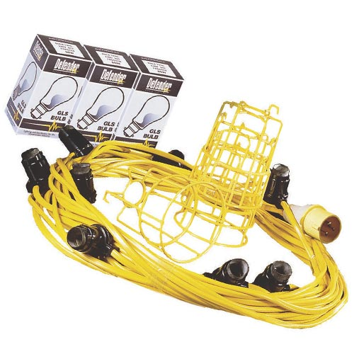 Defender E89810 Defender 110v Festoon Lighting 22m